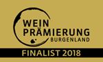 Logo Weinprämierung Burgenland 2018 FINALIST