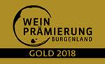 Logo Weinprämierung Burgenland 2018 GOLD