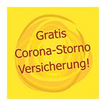 Gratis Corona Storno Versicherung
