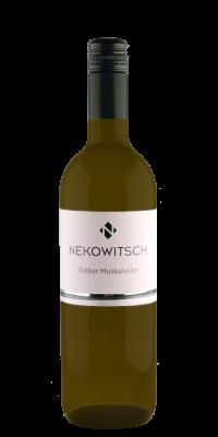 Weinflasche Nekowitsch Gelber Muskateller