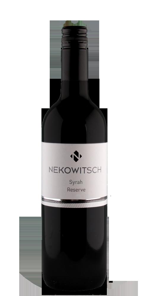 Flaschenfoto Syrah Reserve Weingut Nekowitsch