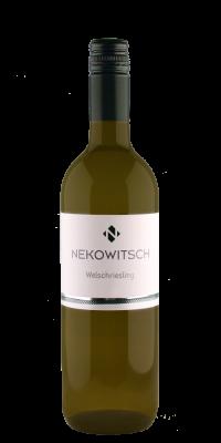 Weinflasche Nekowitsch Welschriesling