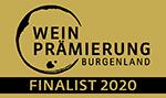 Logo Weinprämierung Burgenland 2020 FINALIST