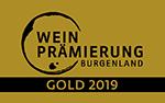 Logo Weinprämierung Burgenland 2019 GOLD